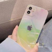 Gradation laser iphone case