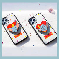 [Disney]  Dumbo Heart grip case