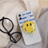 Big smile grip iphone case