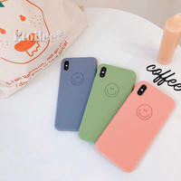 Smile 4colors iphone case