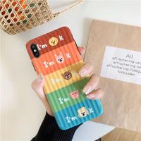 Animal I'm ok iphone case