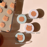 Cookie bear grip for phone