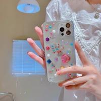 Jewel clear iphone case