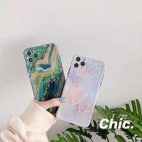 Light dark marble iphone case
