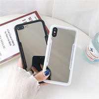Line mirror iphone case