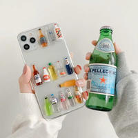 Drink random clear iphone case