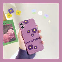 Love is purple iphone case