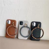 Big ring strap iphone case