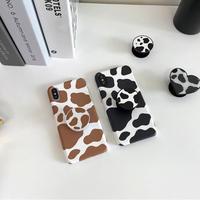 Milk black brown color chip case