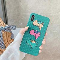 Dinosaur friends iphone case