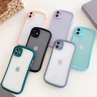 Summer round color side iphone case