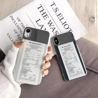Receipt  iphone case