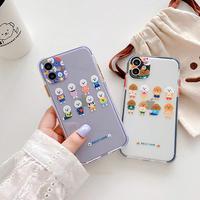 Dogs purple black color side iphone case