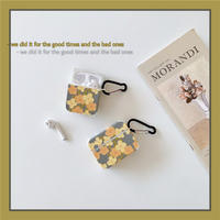 Spring yellow flower airpods case