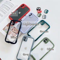 Round shape color side iphone case