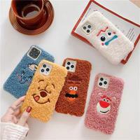 Cartoon fur iphone case