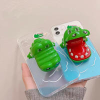 Crocodile toy iphone case