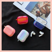 Water drop hologram airpods case
