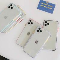 Pastel color side iphone case