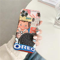 Retro cookie scrap iphone case