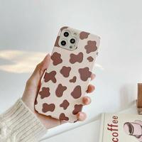 Brown milk cow iphone case