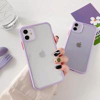 Lavender color side iphone case