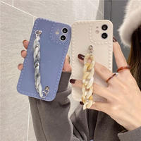 Marble strap iphone case