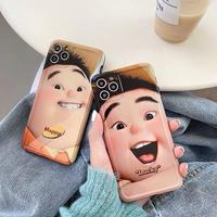 Lucky happy boy iphone case
