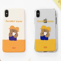 Farmer bear hard/clear case 572