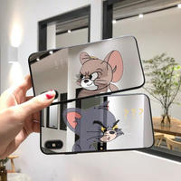 Big mouse cat  mirror iphone case