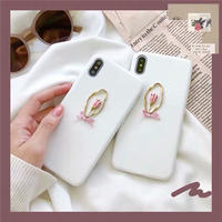 Pink tulip iphone case