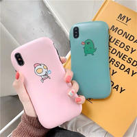 Pink blue cartoon  iphone case