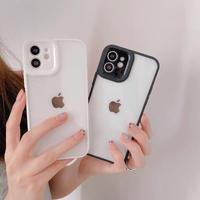 Simple black white grey iphone case