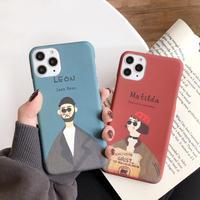 Leon Matilda hard iphone case