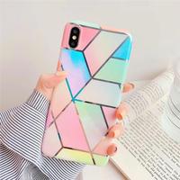 Rainbow geometry iphone case