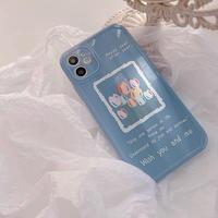 Tulip letter iphone case
