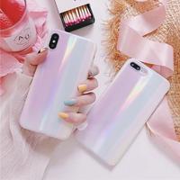 White laser iphone case