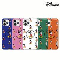 [Disney] Mickey Infant pattern grip shining slimfit card case