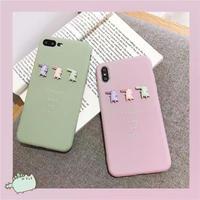 Three crocodile  iphone case