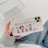 Friends white iphone case