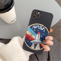 Vintage spaceship iphone case