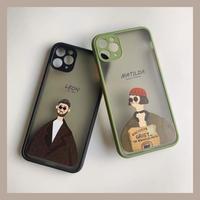 Leon Matilda color side iphone case