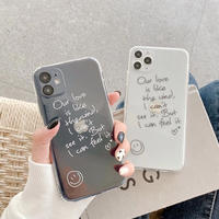 Our love clear iphone case