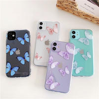 Butterfly 4colors clear iphone case
