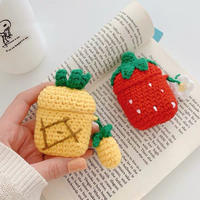 Fruits knit airpods case