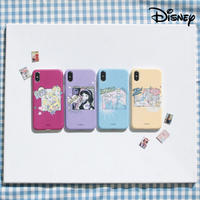 [Disney]  Princess cartoon matt slimfit hard case