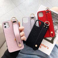 Furry strap  iphone case