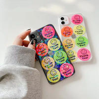 Thank you glitter clear iphone case