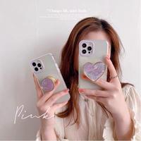 Purple shell grip iphone case