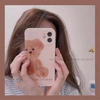 Boring bear iphone case
